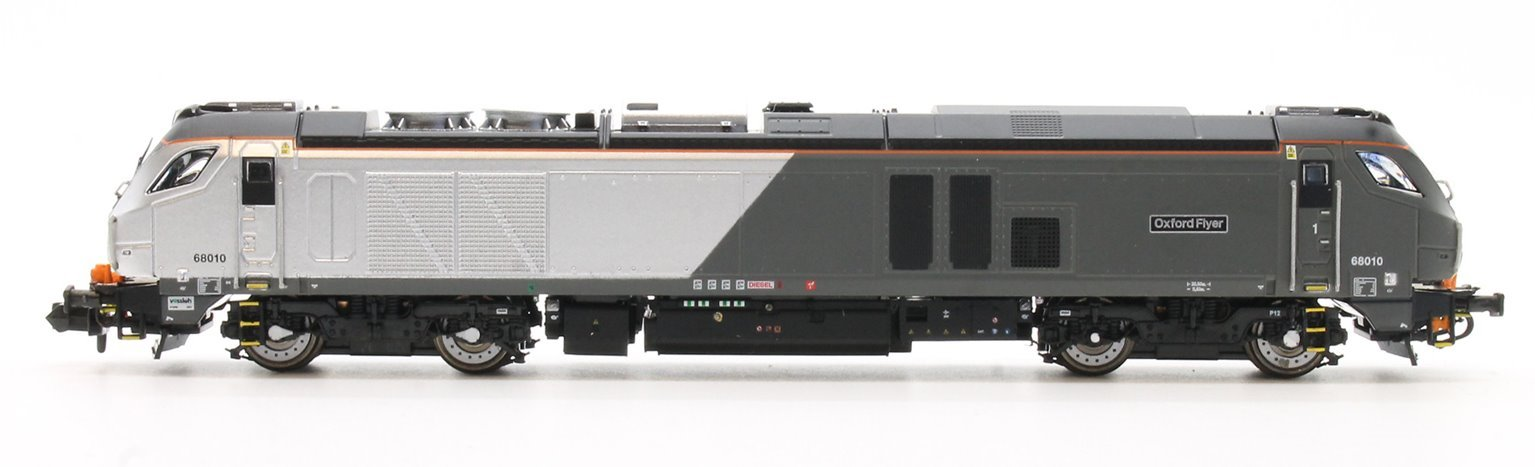"Class 68 68010 ""Oxford Flier"" in Chiltern livery DCC Fitted"