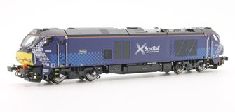 "Class 68 68006 ""Daring"" in Scotrail livery DCC Sound"