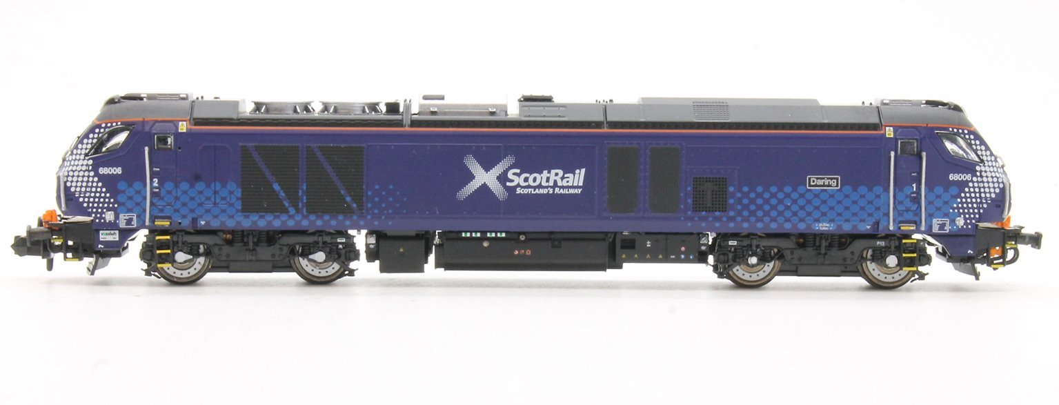 "Class 68 68006 ""Daring"" in Scotrail livery DCC Fitted"