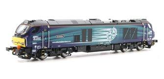 Class 68 Evolution 68001 DRS Livery DCC Sound