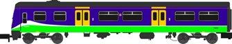 Class 321 428 Silverlink (1997-2007) 4 Car EMU