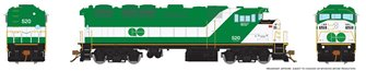 HO F59PH: GO Transit Delivery #520
