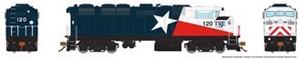 HO Scale F59PH - TRE (Lone Star Solid Blue) #120