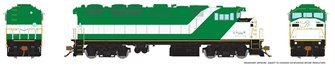 HO Scale F59PH - ExGO Lease (Unnumbered)