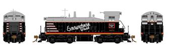 HO Scale SW1200 - Chicago, Burlington & Quincy #9277