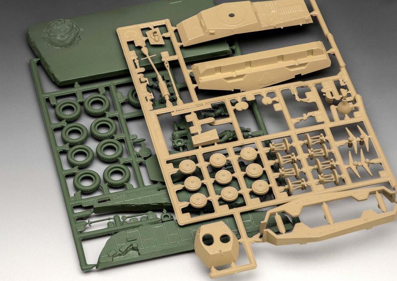 Sd.Kfz.234/2 Puma First Diorama Gift Set Kit (1:76 Scale)