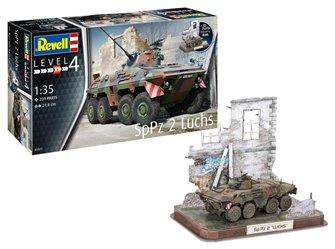 German SpPz2 Luchs & 3D Puzzle Diorama (1:35 Scale)
