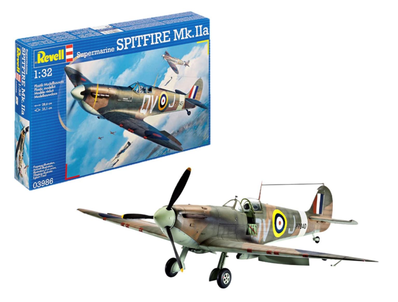 Supermarine SPITFIRE Mk.IIa Model Kit