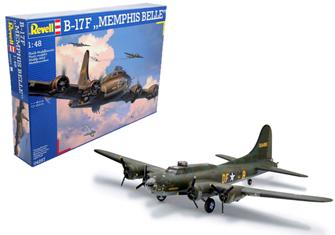 B-17F Memphis Belle Model Kit