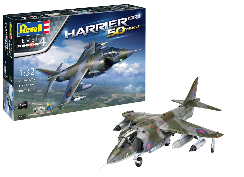 Gift Set Hawker Harrier GR MkI Model Kit