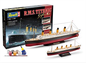 Gift-Set R.M.S. Titanic Model Kit