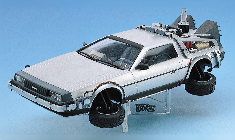 Back to the Future (Part 2) DeLorean Model Kit