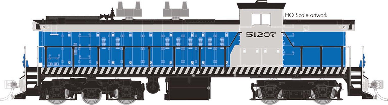 GMD-1 Locomotive - Cuban National Railways A1A-Bo #51213- DCC Silent