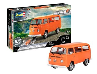 VW T2 Bus Easy-Click Kit (1:24 Scale)