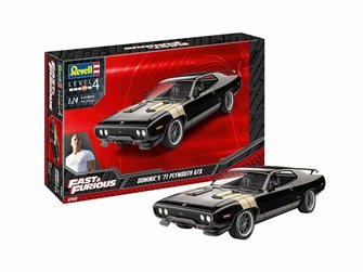 Fast & Furious Dominic's 1971 Plymouth GTX Kit (1:24)