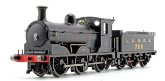 LNER Black Class J36 0-6-0 Steam Locomotive No.722