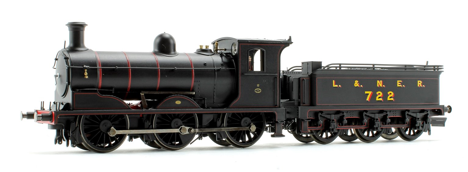 LNER Black Class J36 0-6-0 Steam Locomotive No.722