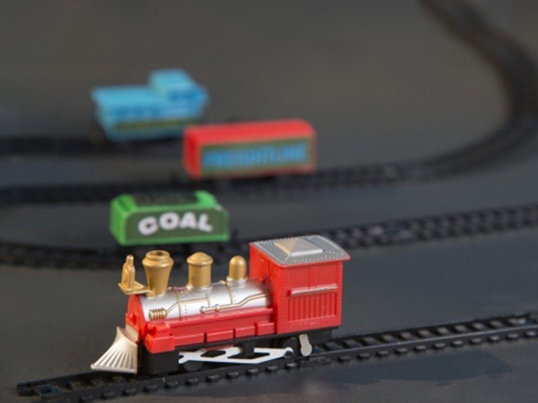 Train Set in a Tin (Gift in a tin)