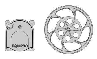 Reefer AB Brake Details and Equipco brake wheel and housing