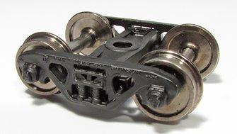 Barber S-2C 70-Ton Trucks – Roller Bearings w/Standard Tread 33″ Wheelsets (Pair)