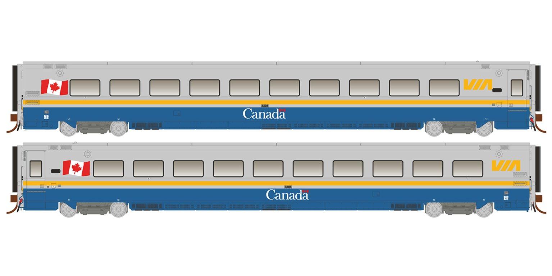 "HO LRC Coach: VIA ""Canada"" Scheme #3308"