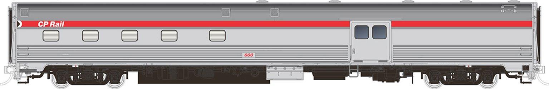 Budd Baggage-Dorm CP Rail Action Red Scheme '600'