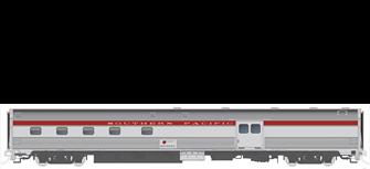 HO Budd Baggage-Dorm Southern Pacific 3102