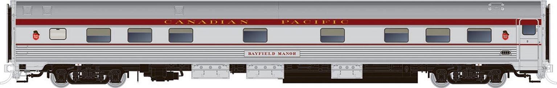 HO Budd Manor Sleeper CPR Maroon Scheme - Blair Manor