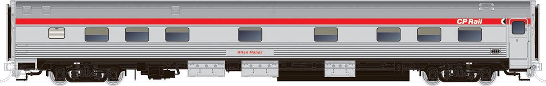 Budd Manor Sleeper CP Action Red Scheme - Allan Manor