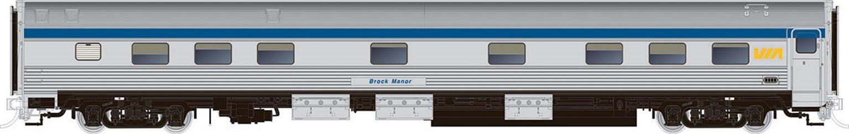 HO Budd Manor Sleeper VIA Rail - Original Scheme - Unnamed