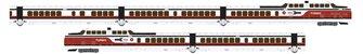 UAC TurboTrain Early Amtrak/US DOT 5 Car Unit PCD-28 – IC-36 – IC-29 – IC-37 – PDC-29 - DC/Silent