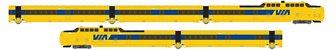 UAC TurboTrain VIA Rail Canada 5 Car Unit PCD-27 – IC-31 – IC-30 – IC-33 – PDC-26 - DC/DCC/Sound
