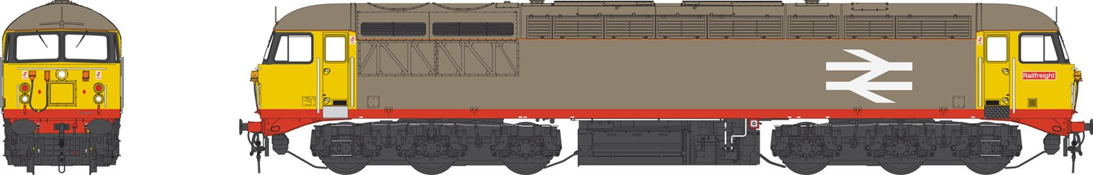 Class 56 Railfreight 'Red Stripe' Grey Heavy Freight Diesel Locomotive