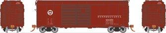 HO PRR X31A Double-Door Boxcar: Circle Keystone
