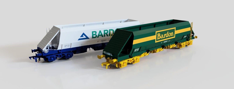 Bardon Hill Quarries (Green and Yellow) PHA/JGA Hopper Wagon (Triple Pack)