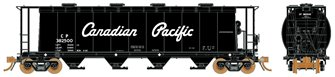 Ultimate Canadian 3800 u ft Covered Hopper - CPR Black (Delivery Scheme) Single Car