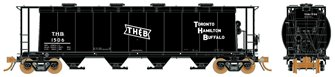 Ultimate Canadian 3800 u ft Covered Hopper - TH&B Single Car