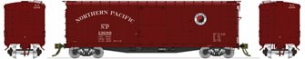 NP 10000-series DS Boxcar Small Monad (1940-1944) Red Ends & Roof 4-pack