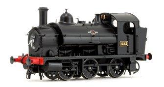 GWR 1361 Class 0-6-0 Tank Locomotive No.1363 in BR Black Late Lion & Wheel Insignia