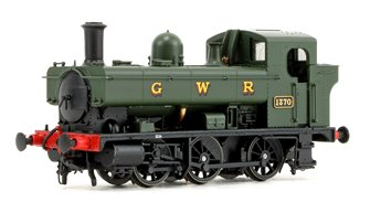 GWR 1366 Class 0-6-0 Tank Locomotive No.1370 in GWR green