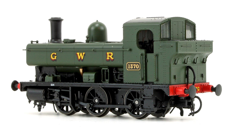 GWR 1366 Class 0-6-0 Tank Locomotive No.1370 in GWR green