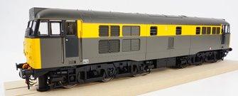 Class 31/1 BR Civil Engineers grey/yellow Diesel Locomotive