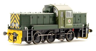 Class 14 'Teddy Bear' - D9555 BR Green (last Swindon built loco)