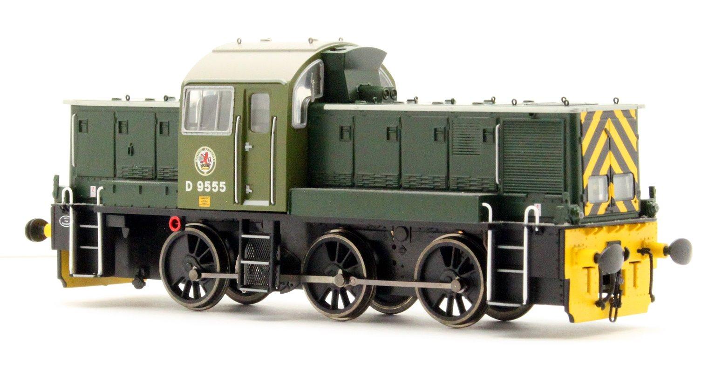 Class 14 'Teddy Bear' - D9555 BR Green (last Swindon built loco)