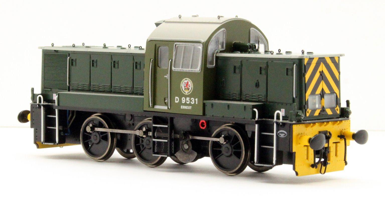 Class 14 'Teddy Bear' - D9531 BR Green