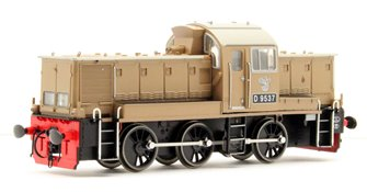 Class 14 'Teddy Bear' - D9537 BR Desert Sand (as preserved)