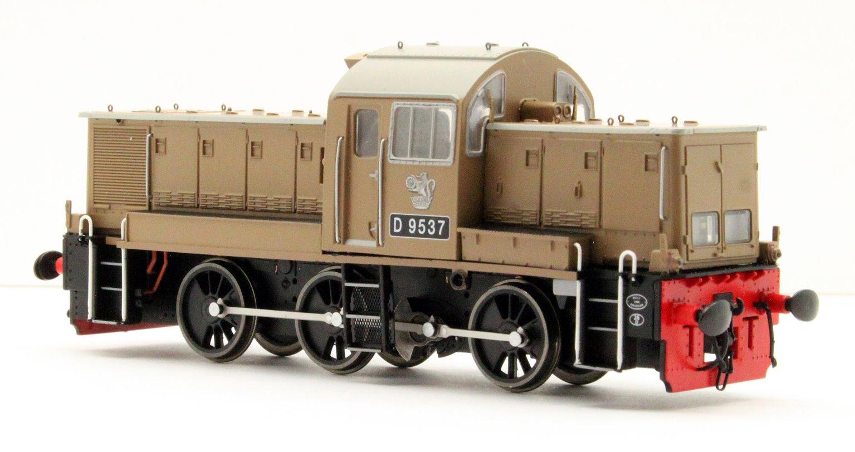 Class 14 'Teddy Bear' - D9537 BR Desert Sand (as preserved)