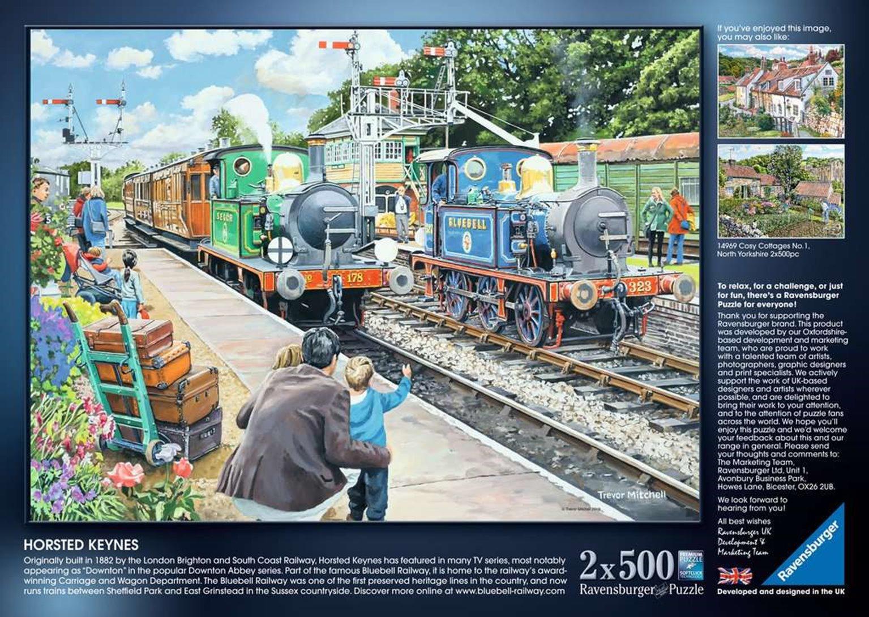Ravensburger Jigsaw Railway Heritage No. 2, 2 x 500pc