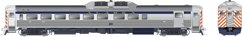 RDC-2 PhIb Alaska RR #711 - DCC Silent