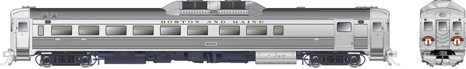 RDC-2 (Phase Ic) Boston & Maine #6210 - DCC Sound